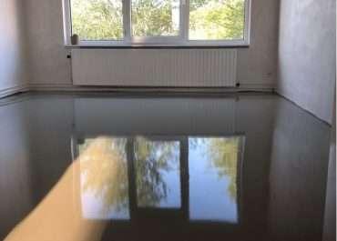 Vloerafwerking  te Nieuw Vennep